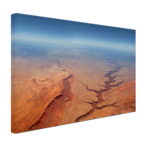 Luchtfoto print Grand Canyon canvas