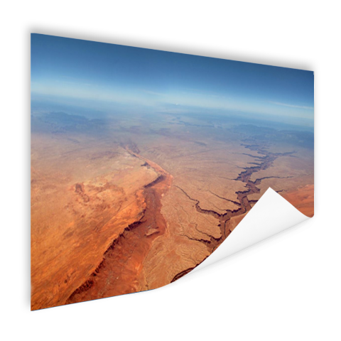 Poster luchtfoto print Grand Canyon