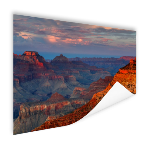 Mather Point zonsondergang Grand Canyon op poster