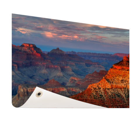 Mather Point Grand Canyon zonsondergang op tuinposter