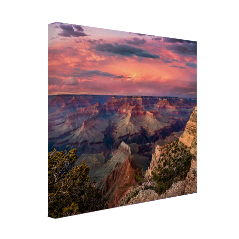 Zonsondergang Grand Canyon canvas
