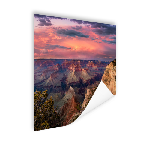 Poster zonsondergang Grand Canyon