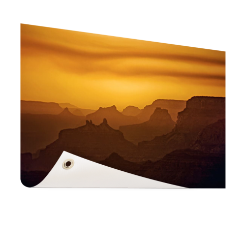 Zonsondergang over Grand Canyon op tuinposter