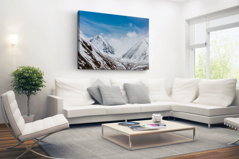 Toppen Himalaya in winter Canvas