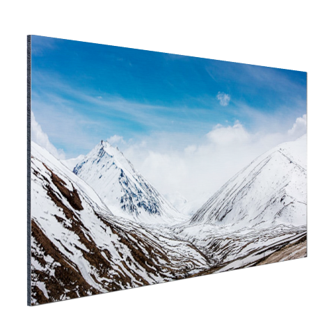 Toppen Himalaya in winter Aluminium