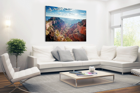 Grand Canyon Cape Royal fotoprint Aluminium