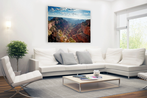 Grand Canyon Cape Royal fotoprint Hout