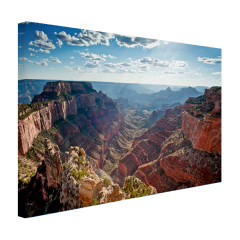 Grand Canyon Cape Royal fotoprint Canvas