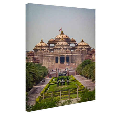 Akshardham Tempel India Canvas