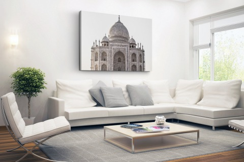Taj Mahal India Canvas