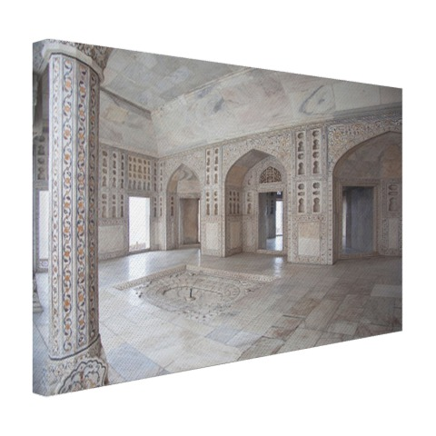Fort van Agra India Canvas