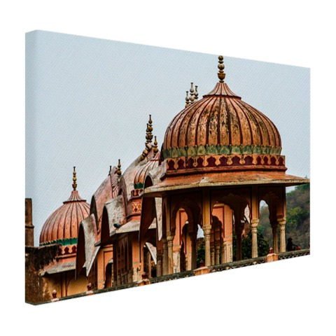 Galtaji Tempel India Canvas