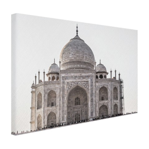 India Taj Mahal op canvas