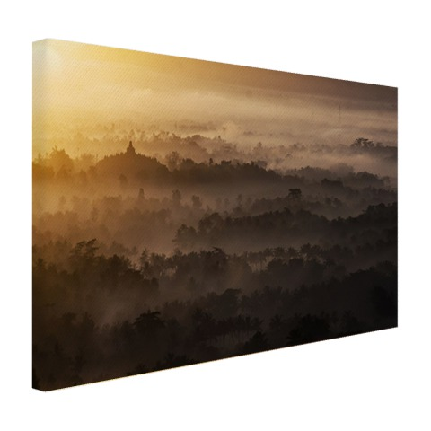 Borobudur Java Indonesie Canvas