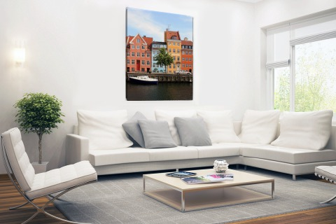 Christianshavn Kopenhagen Canvas