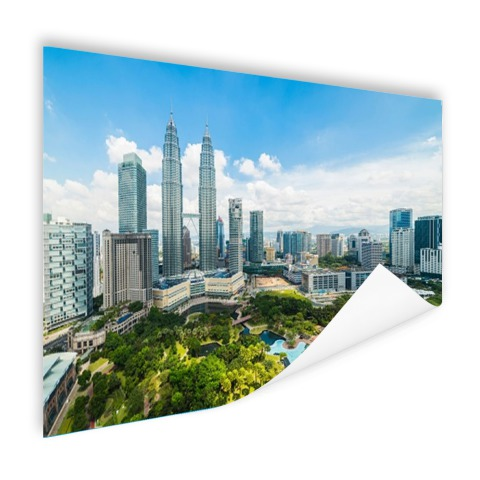 Skyline Petronas Towers op poster