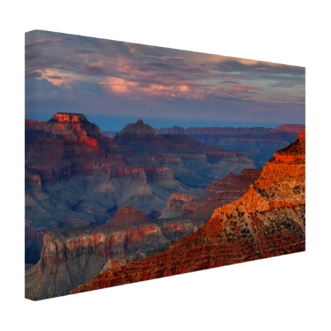 Mather Point zonsondergang Grand Canyon Canvas