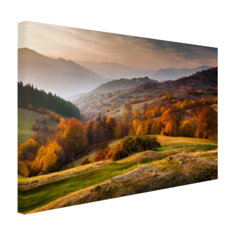 Rhodopean landschap Canvas