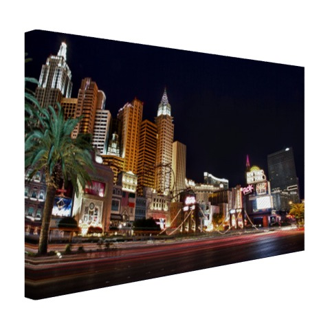 De strip van Las Vegas Canvas