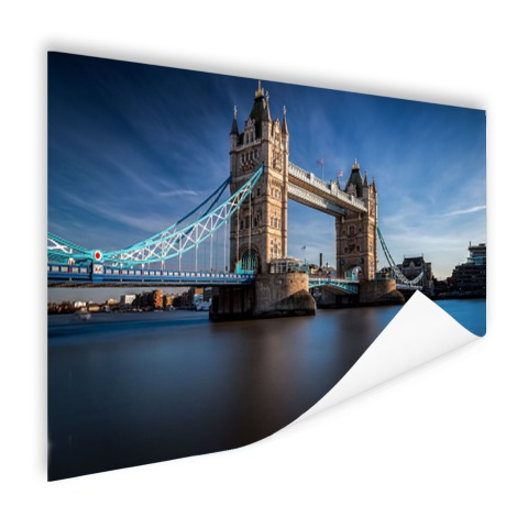 Poster met tower bridge Thames foto