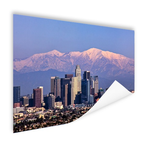 Los Angeles met bergen