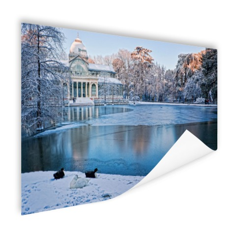Crystal Palace Madrid wanddecoratie