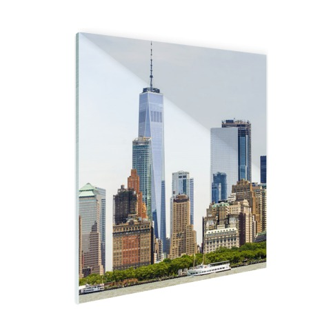 Freedom tower Manhattan Glas