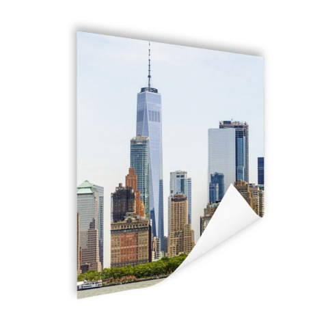 Freedom tower Manhattan Poster