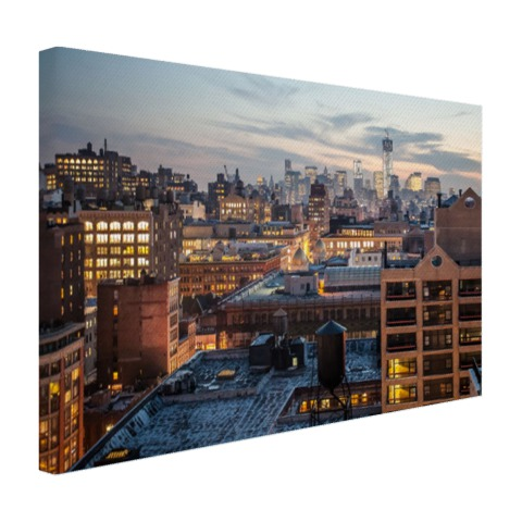 Lower Manhattan Canvas