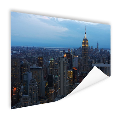 Lower Manhattan fotoprint Poster