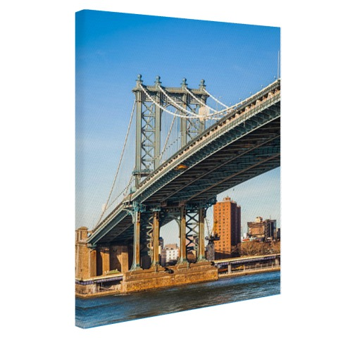 Manhattan brug in New York City Canvas