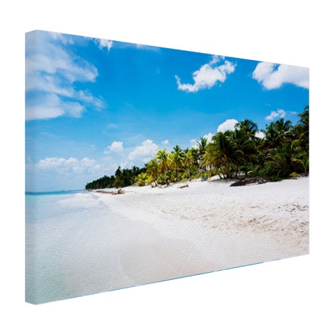 Strand Tulum Mexico foto Canvas