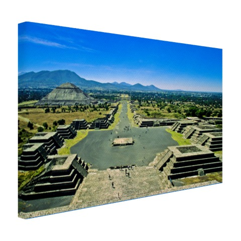 Teotihuacan fotoprint Mexico Canvas