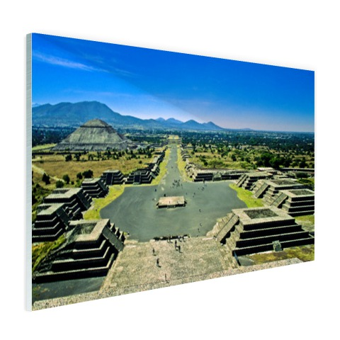 Teotihuacan fotoprint Mexico Glas