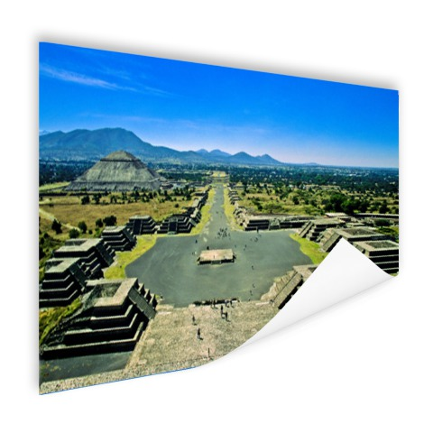 Teotihuacan fotoprint Mexico Poster