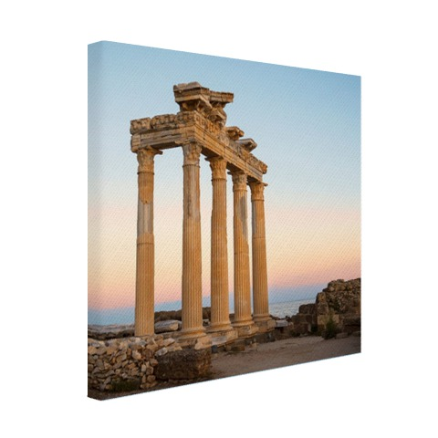 Apollon tempel ruïnes Turkije Canvas