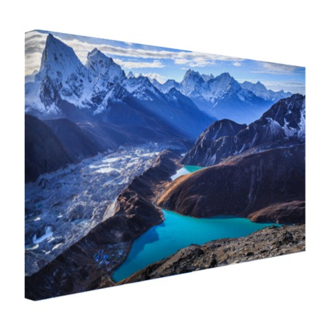 Himalaya landschap Nepal Canvas