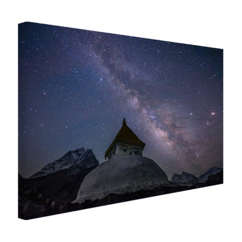 Stupa Nepal fotoprint Canvas
