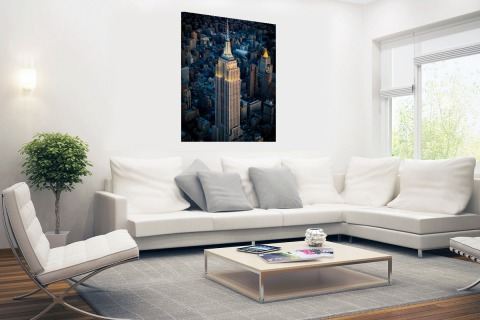 Empire State Building Manhattan NY Poster
