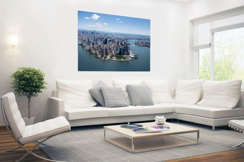 Luchtfoto New York Poster