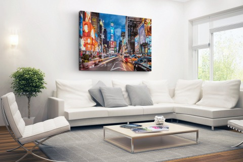 Times Square NY Canvas