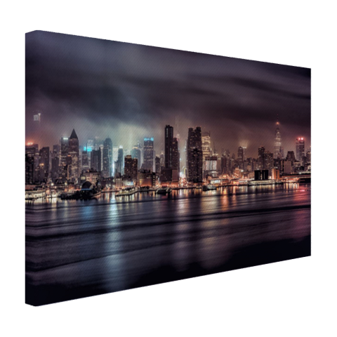 Duister New York City Canvas