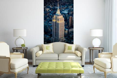 Empire State Building Manhattan NY Fotobehang vinyl