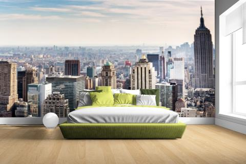 New York City Skyline Fotobehang vinyl