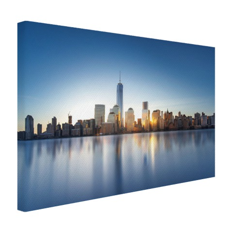 Foto van New York geprint op canvas