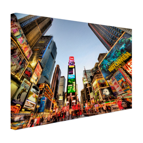 Times Square in New York Canvas