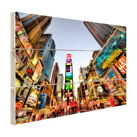 Times Square in New York Hout