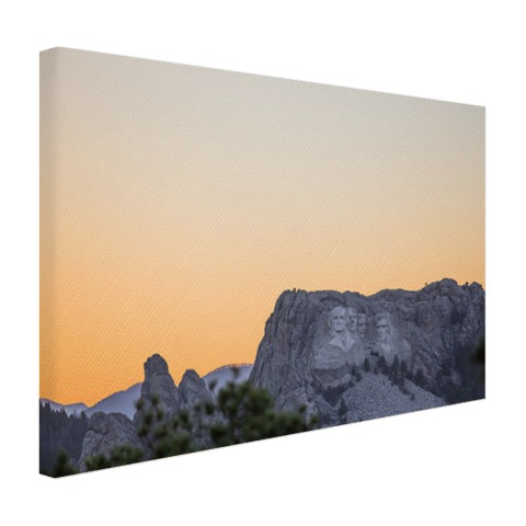 Mount Rushmore Amerika Canvas