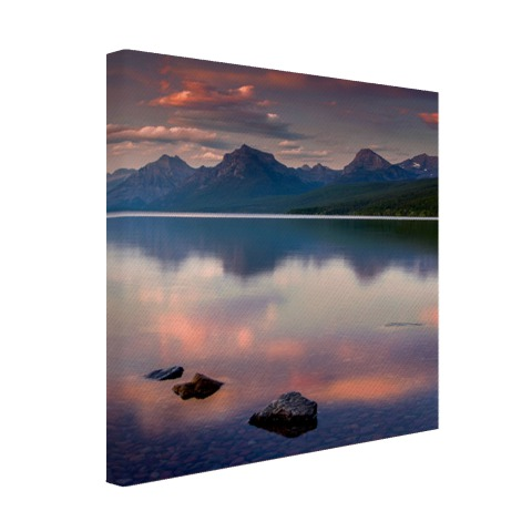 Nationaal park Glacier Canvas