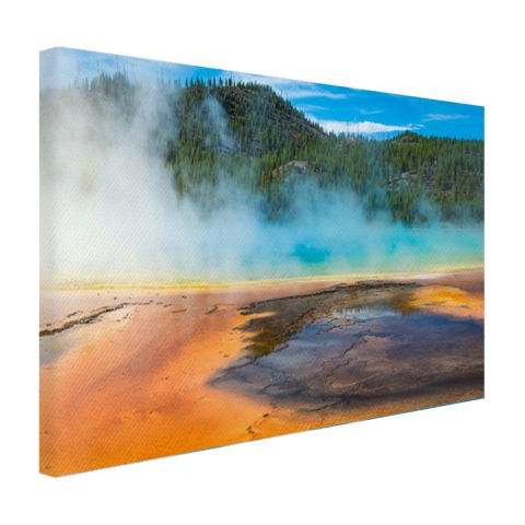 Yellowstone Nationaal Park Amerika Canvas